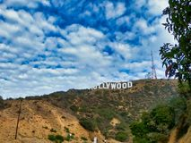 Must see in Los Angeles city, california royalty free stock photography