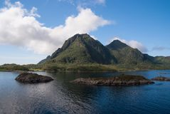 Must see nature attractions. Fjords and quiet national parks highlight Norways serene qualities. Fjords resemble still. Blue lakes but consist of saltwater Royalty Free Stock Images