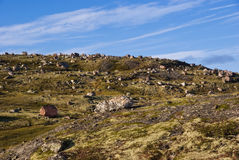 Musta Tunturi. Ridge on the Kola Peninsula Royalty Free Stock Image