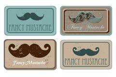 mustache αναδρομικός Στοκ φωτογραφίες με δικαίωμα ελεύθερης χρήσης