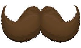 mustache ilustração royalty free
