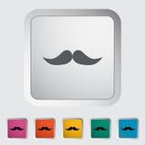 mustache ilustração do vetor