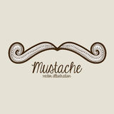 Mustache Royalty Free Stock Images