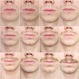 Mustache growing Royalty Free Stock Photo
