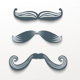 Mustache hipster Royalty Free Stock Image