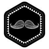 Mustache icon design Stock Photography