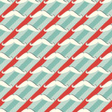 Mustache seamless pattern - retro hipster texture Stock Photo