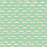 Mustache Tribal Digital Papers Stock Photo