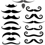 Mustache. Vector illustration (EPS 10 Royalty Free Stock Image