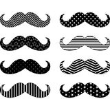 Mustaches Pattern Collections Royalty Free Stock Images