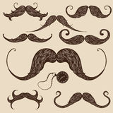 Mustaches Stock Images