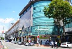 Mustafa Centre en la poca India en Singapur Imagen de archivo