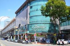 Mustafa Centre en la poca India en Singapur Fotografía de archivo