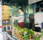 Mustafa Gemuese Kebab a Berlino immagini stock libere da diritti