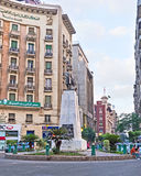 Mustafa Kamel Square Royalty Free Stock Photography