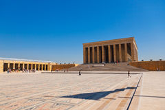 Mustafa Kemal Ataturk mausoleum in Ankara Turkey Royalty Free Stock Photography