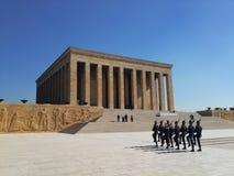 Mustafa Kemal Ataturk mauzoleum w Ankara Turcja Zdjęcie Stock