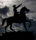 Mustafa Kemal Ataturk-Monument in Izmir die Türkei Lizenzfreies Stockbild