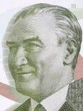 Mustafa Kemal Ataturk-Porträt Stockfoto