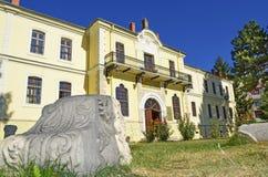 Mustafa Kemal Ataturk School i Bitola, Makedonien Arkivbilder