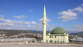Mustafa Mosque Ersoy stock video footage
