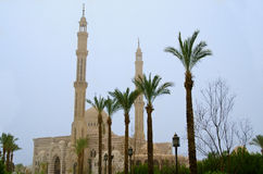 Mustafa Mosque in Sharm el-Sheikh Stock Afbeeldingen
