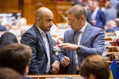 Mustafa Nayyem and Sergei Pashinsky Royalty Free Stock Images