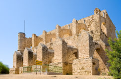 Mustafa Pasha Mosque in north Cyprus occupied by the Turks, Famagusta Royalty Free Stock Photo