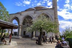 Mustafa Pasha Mosque, Skopje, Mazedonien Stockfotografie