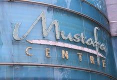 Mustafa Shopping Centre Little India Singapur Stockfotografie