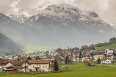 Mustair village in Switzerland, Europe. Royalty Free Stock Photography