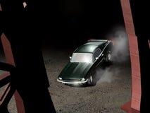 Mustang 1967 del Ford Fotografie Stock Libere da Diritti