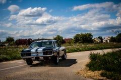 Mustang 1967 di Ford Powerslide Immagine Stock