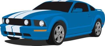 Mustang 2005 del Ford GT Immagini Stock Libere da Diritti