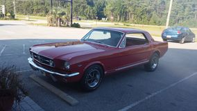 67 mustang Obrazy Stock