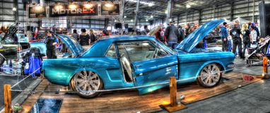 Mustang 1966 Immagini Stock