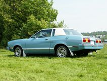 Mustang. Classic sporty mustang of the 70's - Mustang Ghia Stock Photography