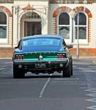 Mustang aleja Obrazy Royalty Free