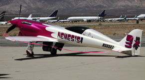 Mustang alterado no festival aéreo experimental imagens de stock