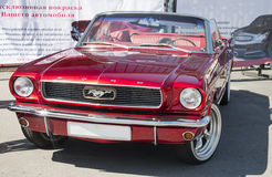 Mustang. American car 60s Ford Mustang Convertible Stock Photo