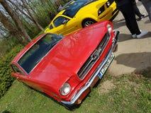 Mustang americano dell'automobile del muscolo Fotografie Stock Libere da Diritti