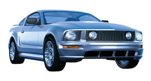 Mustang Automobile Stock Image