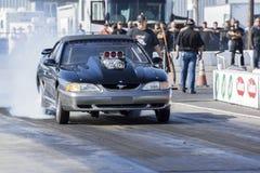 Mustang drag car Stock Photos