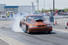 Mustang Burnout Stock Images
