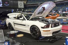 Mustang convertible stock photos