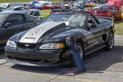 Mustang convertible Stock Image
