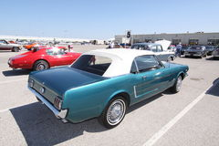 Mustang coupe 1965 Stock Image
