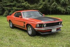 Mustang d'annata Fotografia Stock