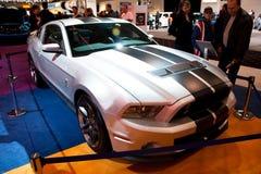 Mustang d'argento del Ford Fotografie Stock Libere da Diritti