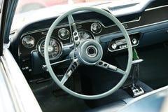 Mustang Dashboard. Dashboard vintage car, 1967 Ford Mustang stock photos